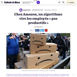 Chez Amazon, un algorithme vire les employés «pas productifs »
