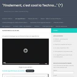 """Algorithme du Jeu de Nim – """"Finalement, c'est cool la Techno…"""" (*)"""