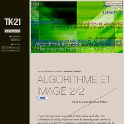 Algorithme et image 2/2 - TK-21