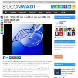 EDGE, l'algorithme israélien qui détecte les gènes toxiques