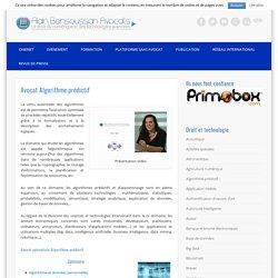 Avocat Algorithme prédictif : présentation générale