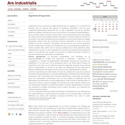 Algorithme (Programme)