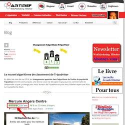 Le nouvel algorithme de classement de Tripadvisor - Artiref