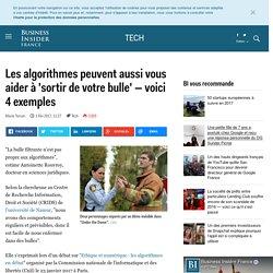 Les algorithmes peuvent aussi vous aider à 'sortir de votre bulle' — voici 4 exemples - Business Insider France