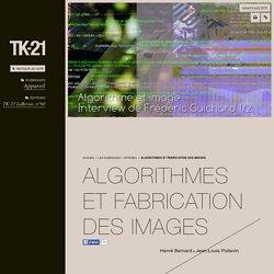 Algorithmes et fabrication des images - TK-21
