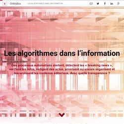 Les algorithmes dans l'information