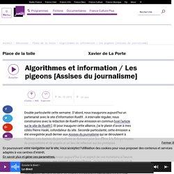 Algorithmes et information / Les pigeons [Assises du journalisme]