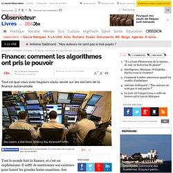 Finance: comment les algorithmes ont pris le pouvoir