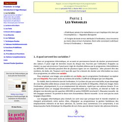 Cours d'Algorithmique - Christophe Darmangeat