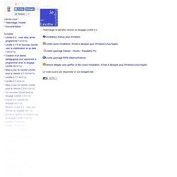 Linotte, l'algorithmique et la programmation facilement » Télécharger
