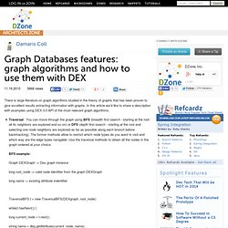 Graph Databases features: graph algorithms and how to use them with DEX