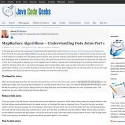 MapReduce Algorithms - Understanding Data Joins Part 1