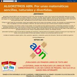 ALGORITMOS ABN. Por unas matemáticas sencillas, naturales y divertidas.: Un comentario con mucho contenido.