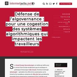 Défense de l'algovernance : pour une cogestion des systèmes algorithmiques qui impactent les travailleurs