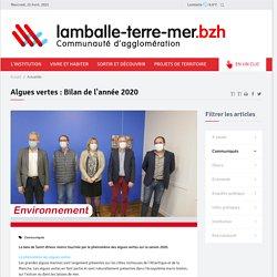LAMBALLE TERRE MER - JANV 2021 - Algues vertes : Bilan de l'année 2020