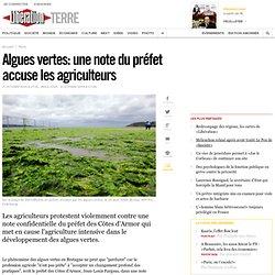 Algues vertes: une note du préfet accuse les agriculteurs - Libé