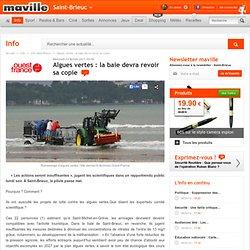 Saint-Brieuc.maville.com Algues vertes : la baie devra revoir sa copie