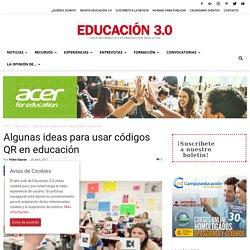 Ideas para usar códigos QR en educación