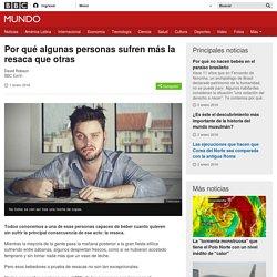 Por qué algunas personas sufren más la resaca que otras - BBC Mundo