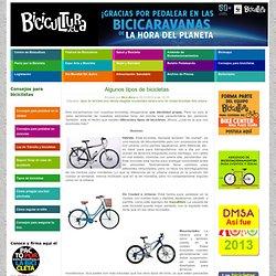Algunos tipos de bicicletas