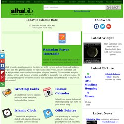 Alhabib Islamic Web Service