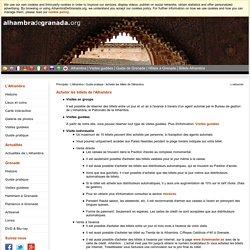 Acheter les billets de l'Alhambra - Guide pratique - AlhambraDeGranada.org