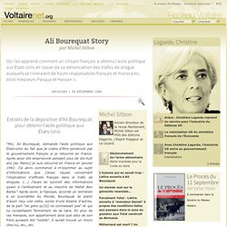 Ali Bourequat Story