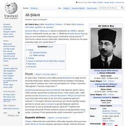 Ali Şükrü