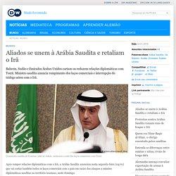 Aliados se unem à Arábia Saudita e retaliam o Irã
