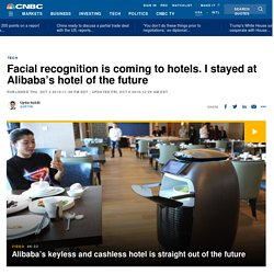 Alibaba: China's FlyZoo hotel uses facial recognition tech and robots