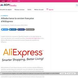 Alibaba lance la version française d'AliExpress