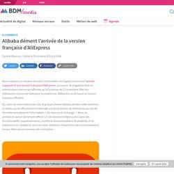 Alibaba dément l'arrivée de la version française d'AliExpress