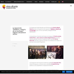 Blog del Consejo Regulador de la Denominación de Origen Protegida Vinos Alicante