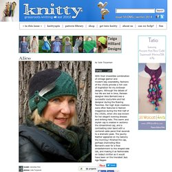 Alice cap : Knitty.com - Winter 2014