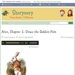 Alice, Chapter 1: Down the Rabbit-Hole