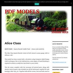 Alice Class – PDF Models