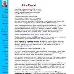 Alice Pascal