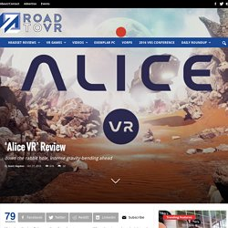 'Alice VR' Review on Oculus Rift