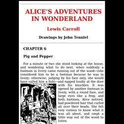 Alice in Wonderland - Chapter 6