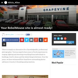 Alicia_Allen - Your RebelMouse site is almost ready!