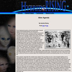 Alien Abduction - Alien Agenda on Earth
