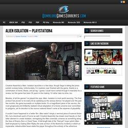 Alien Isolation - PlayStation4