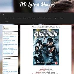 Alien vs Ninja 250MB Dual Audio Movie