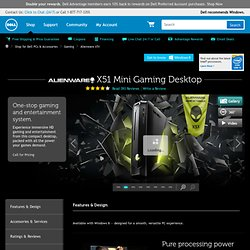 New Alienware X51 Mini HD Gaming Computer — Specs and Reviews