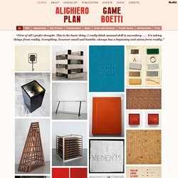 Alighiero Boetti: Game Plan
