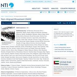 Non-Aligned Movement (NAM)