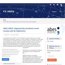 IdRef / ADUM : alignement des encadrants comme nouveau volet de collaboration - FIL'ABES