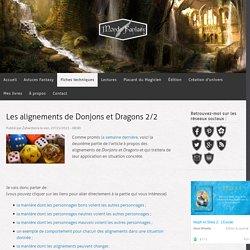 Les alignements de Donjons et Dragons 2/2
