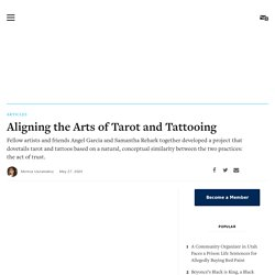 Aligning the Arts of Tarot and Tattooing