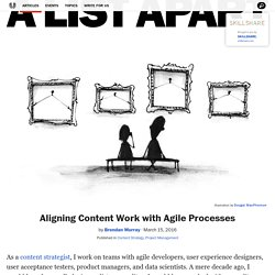 Aligning Content Work with Agile Processes